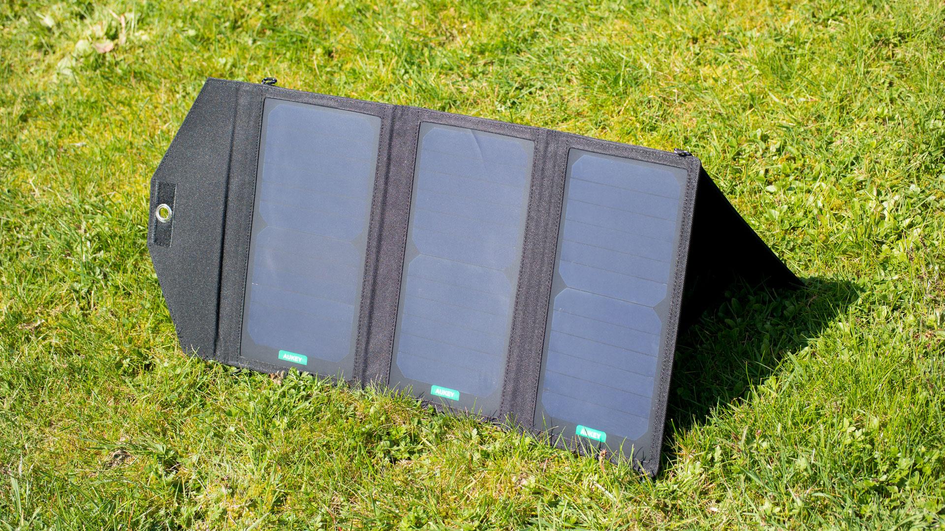 Aukey Pb P2 20w Solarladeger 228 T Im Test Techtest