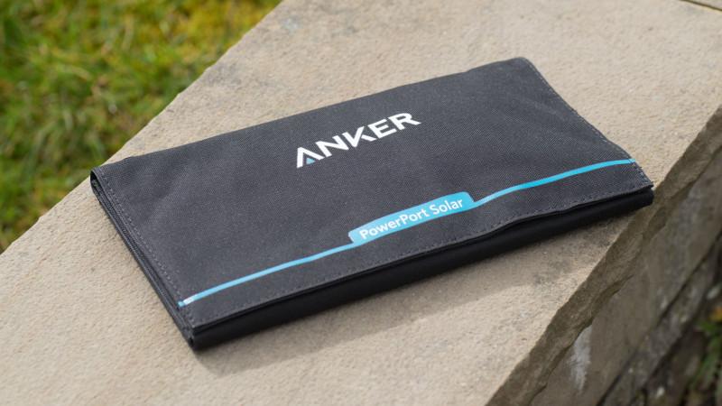 Das Anker PowerPort 21W USB Solarladegerät im Test-1