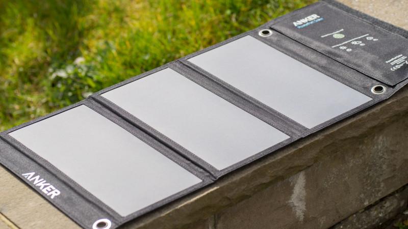 Das Anker PowerPort 21W USB Solarladegerät im Test-2