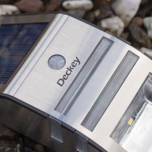 Deckey LED Solarleuchte Mit Bewegungsmelder im Test