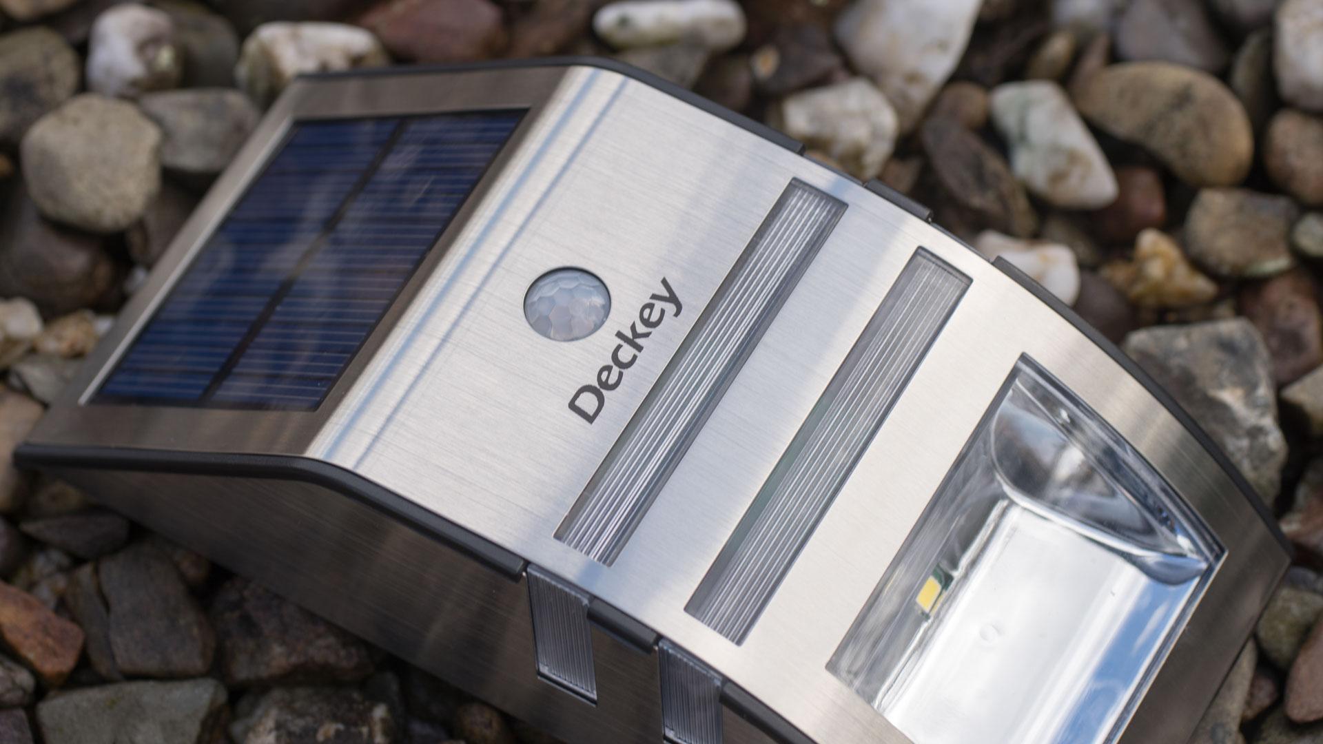 Deckey-LED-Solarleuchte-Mit-Bewegungsmelder-im-Test-6 Fabelhafte Garten solarleuchten Mit Bewegungsmelder Dekorationen