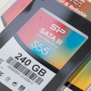 Die Silicon Power Slim S55 240GB SSD im Test