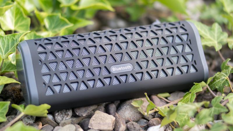 EC Technology Bluetooth Lautsprecher mit super Bässen 6 Watt (2 X 3W)-8