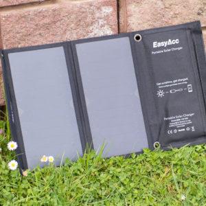 EasyAcc Solar Ladegerät 2-Port mit 15W Leistung im Test