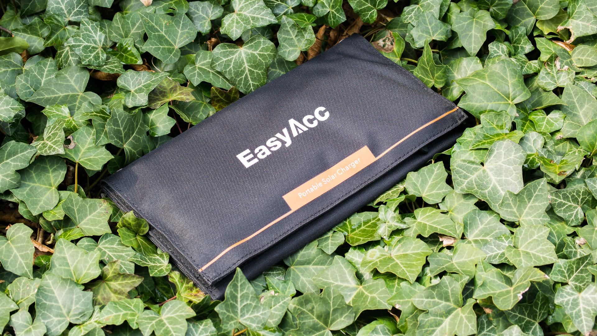 easyacc solar ladeger t 2 port mit 15w leistung im test. Black Bedroom Furniture Sets. Home Design Ideas