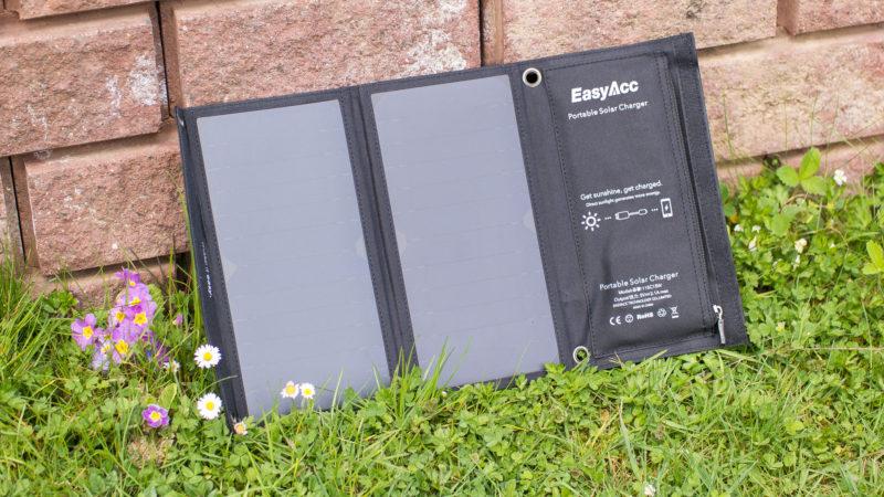EasyAcc Solar Ladegerät 2-Port mit 15W Leistung im Test-5