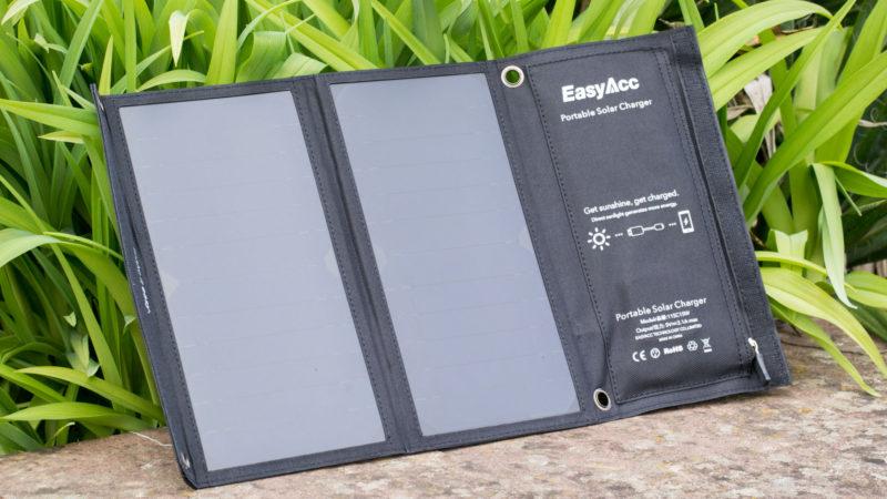 EasyAcc Solar Ladegerät 2-Port mit 15W Leistung im Test-7
