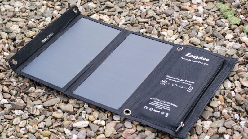 EasyAcc Solar Ladegerät 2-Port mit 15W Leistung im Test-8