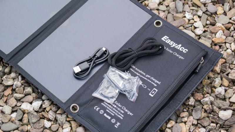 EasyAcc Solar Ladegerät 2-Port mit 15W Leistung im Test-9