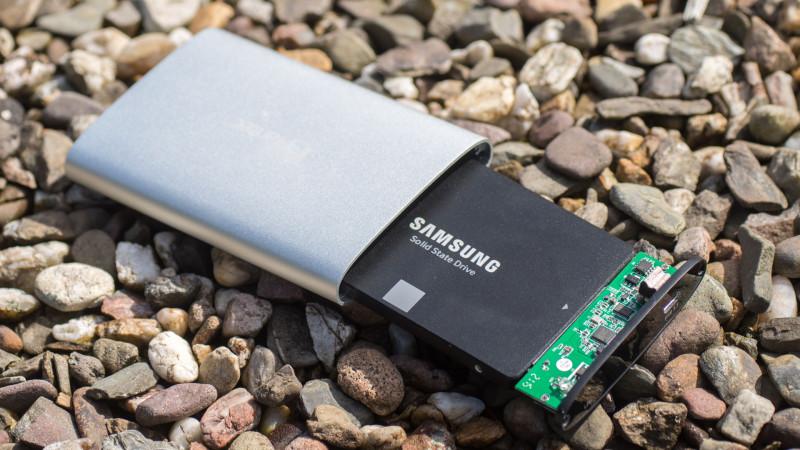 FANTEC ALU-25U31 Festplattengehäuse mit USB 3.1 im Test-12