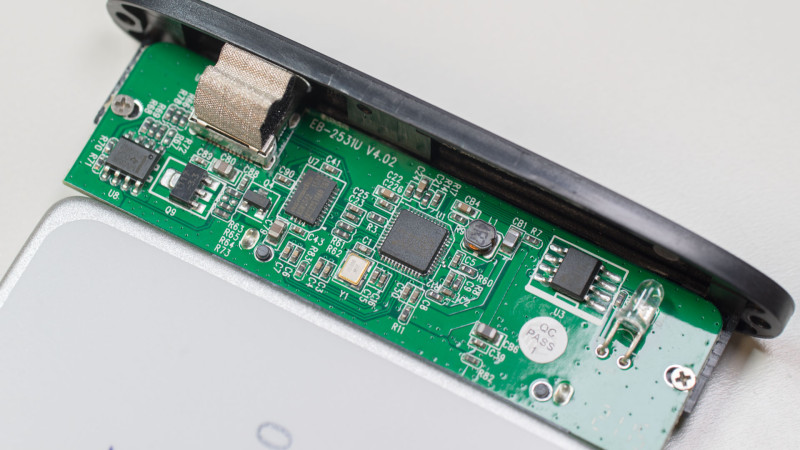 FANTEC ALU-25U31 Festplattengehäuse mit USB 3.1 im Test-6