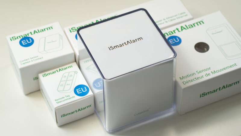 Smart Alarmanlage im Test, das iSmartAlarm Preferred Package-20