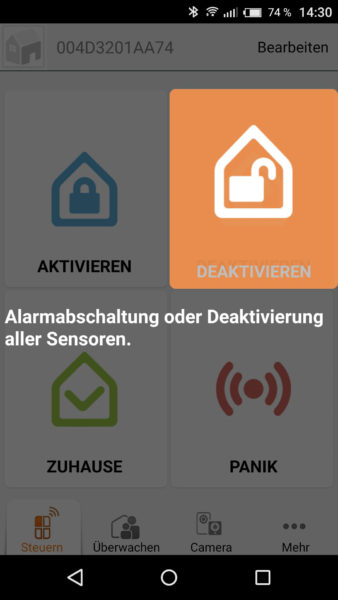 Smart Alarmanlage von iSmartAlarm Test-23