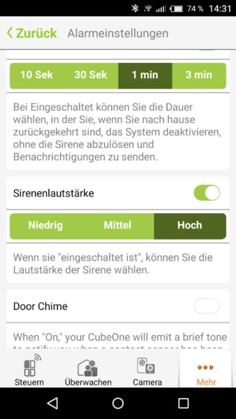 Smart Alarmanlage von iSmartAlarm Test-32