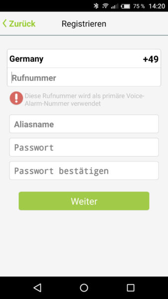 Smart Alarmanlage von iSmartAlarm Test-6
