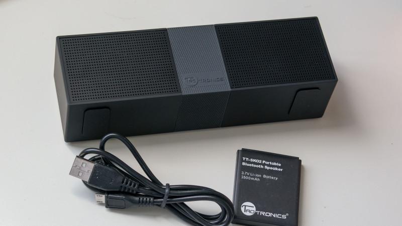 TaoTronics tragbarer Bluetooth Lautsprecher-5