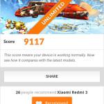 Xiaomi Redmi 3-3D Mark