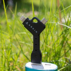 ARKIN ChargeKey – Schlüsselanhänger 2 in 1 Lightning & Micro-USB Ladekabel im Test