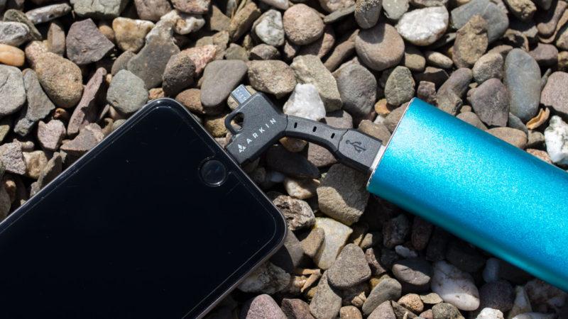 ARKIN ChargeKey - Schlüsselanhänger 2 in 1 Lightning & Micro-USB Ladekabel im Test-10