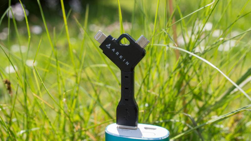 ARKIN ChargeKey - Schlüsselanhänger 2 in 1 Lightning & Micro-USB Ladekabel im Test-12