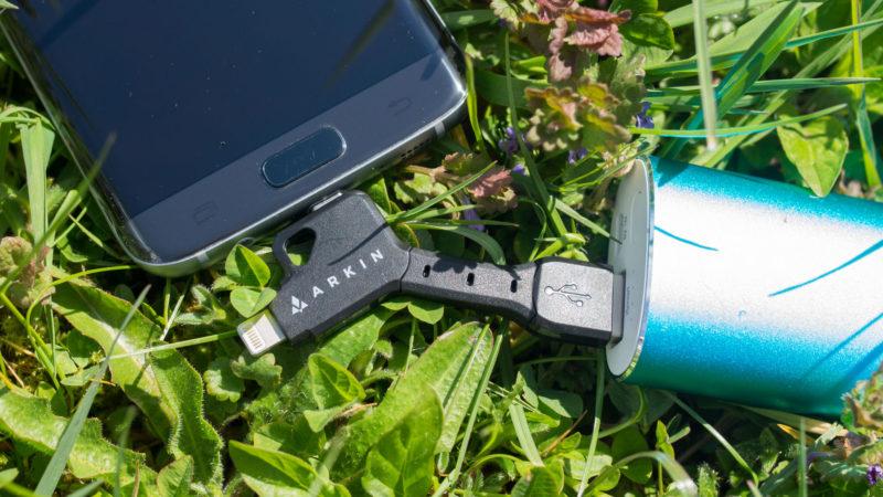 ARKIN ChargeKey - Schlüsselanhänger 2 in 1 Lightning & Micro-USB Ladekabel im Test-7