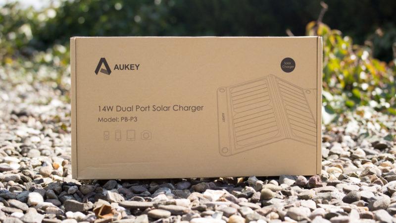 AUKEY Solarladegerät mit 14W im Test-1