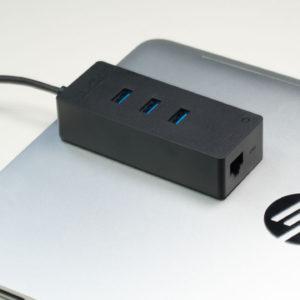 AUKEY USB C auf 3x USB 3.0 und GBit LAN HUB/Adapter im Test