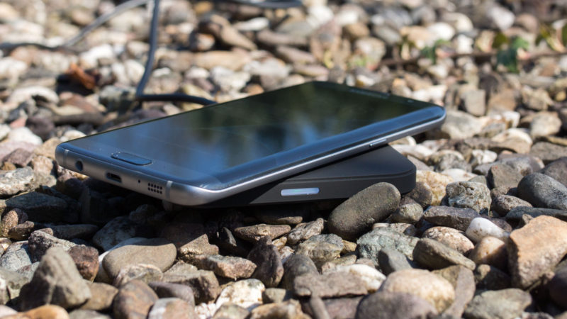 CHOETECH QI Kabelloses Schnellladegerät für z.B. das Samsung Galaxy S7 im Test-11
