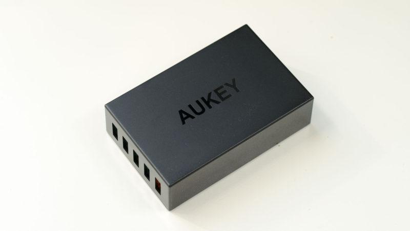 Das AUKEY PA-T15 55W Multiport Ladegerät mit Quick Charge 3.0 im Test, das beste QC3.0 Multiport Ladegerät!-12