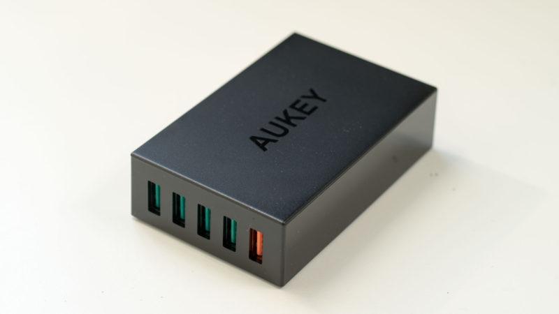 Das AUKEY PA-T15 55W Multiport Ladegerät mit Quick Charge 3.0 im Test, das beste QC3.0 Multiport Ladegerät!-13