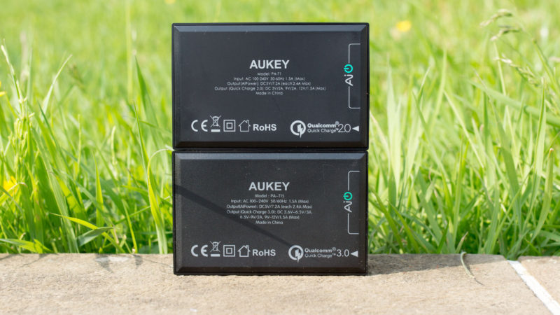 Das AUKEY PA-T15 55W Multiport Ladegerät mit Quick Charge 3.0 im Test, das beste QC3.0 Multiport Ladegerät!-5