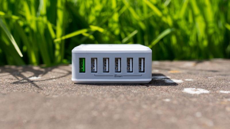 EasyAcc 50W USB Ladegerät mit Quick Charge 2.0 und 6-Ports im Test-20
