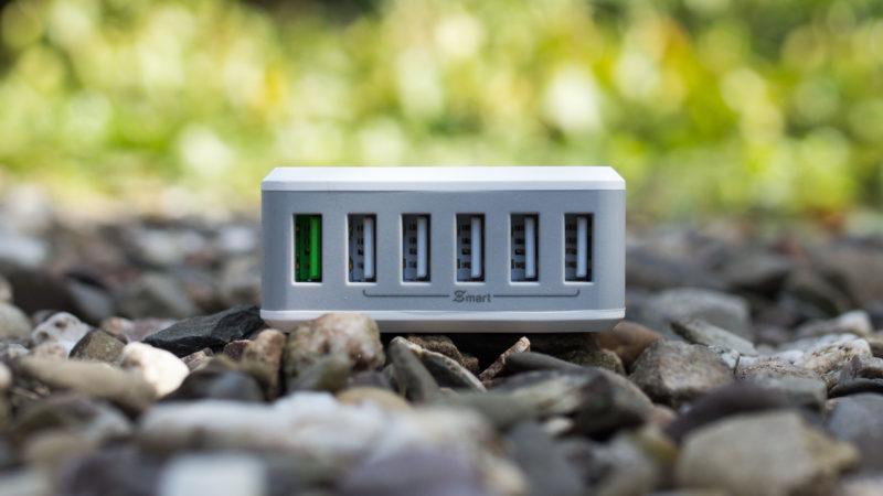 EasyAcc 50W USB Ladegerät mit Quick Charge 2.0 und 6-Ports im Test-3