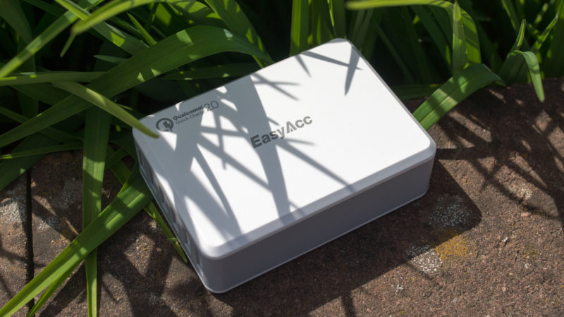 EasyAcc 50W USB Ladegerät mit Quick Charge 2.0 und 6-Ports im Test-8