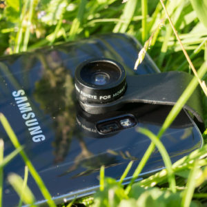 Smartphone Objektive von AUKEY im Test, das 160 Grad Fischauge + 20x Makro