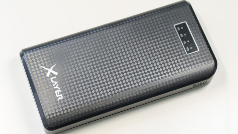 XLayer Carbon Black 20.000mAh Powerbank im Test-15