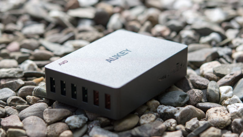 AUKEY PA-T11 60W 6-Port Ladegerät mit zwei Quick Charge 3.0 Ports im Test-10