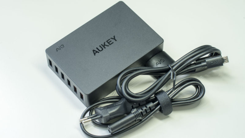 AUKEY PA-T11 60W 6-Port Ladegerät mit zwei Quick Charge 3.0 Ports im Test-3