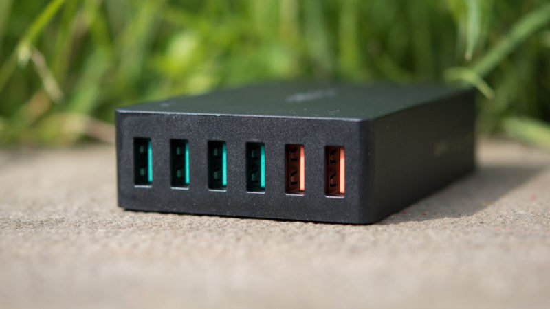 AUKEY PA-T11 60W 6-Port Ladegerät mit zwei Quick Charge 3.0 Ports im Test-7