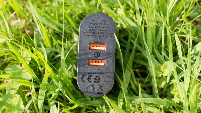 AUKEY PA-T16 Quick Charge 3.0 Ladegerät mit zwei Ports im Test-5