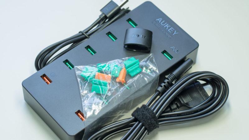 AUKEY PA-T8 10 Port USB Ladegerät mit 115W und zwei Quick Charge 3.0 Ports im Test-2