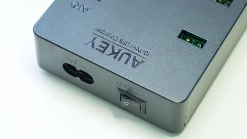 AUKEY PA-T8 10 Port USB Ladegerät mit 115W und zwei Quick Charge 3.0 Ports im Test-4