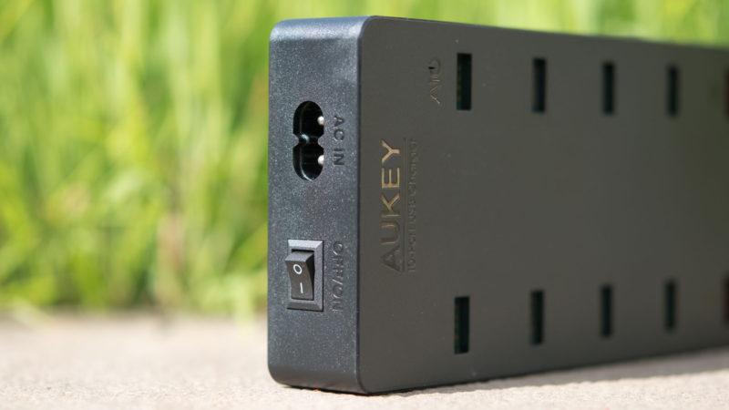 AUKEY PA-T8 10 Port USB Ladegerät mit 115W und zwei Quick Charge 3.0 Ports im Test-9