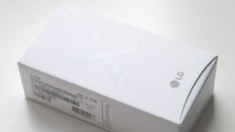 Das LG Electronics X Screen K500N im Test-1