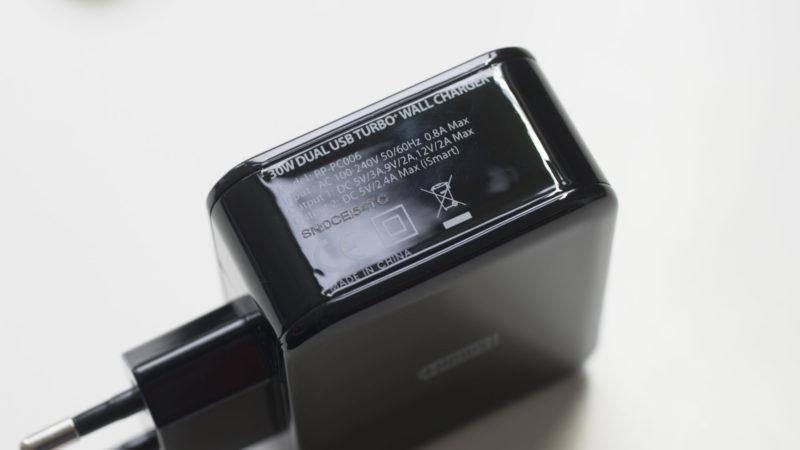 Das RAVPower RP-PC006 Dual Port Ladegerät mit Quick Charge 3.0 im Test-6