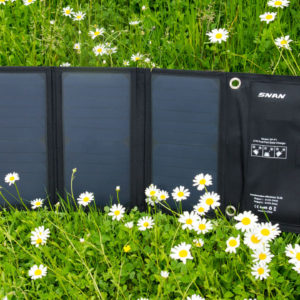 Das SNAN 21W Solar Ladegerät im Test