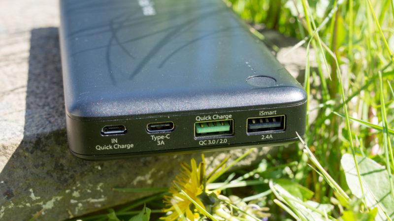 Die RAVPower TURBO 20100mAH Powerbank mit USB C und Quick Charge 3.0 im Test-11