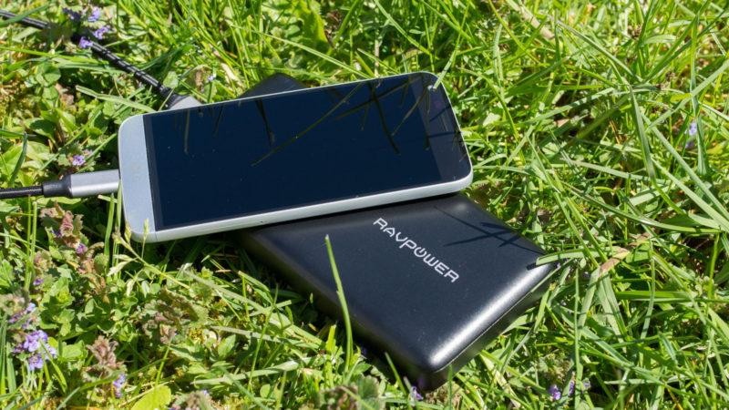 Die RAVPower TURBO 20100mAH Powerbank mit USB C und Quick Charge 3.0 im Test-15
