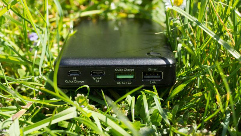 Die RAVPower TURBO 20100mAH Powerbank mit USB C und Quick Charge 3.0 im Test-8