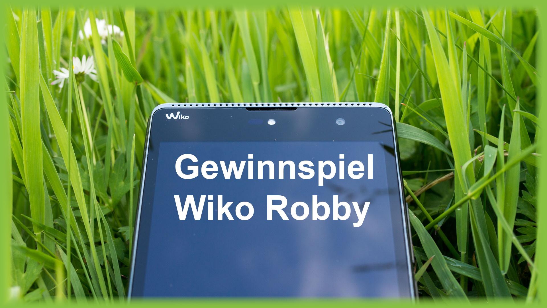 Gewinnspiel Wiko Robby Smartphone Techtest